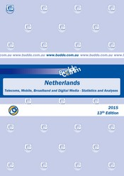 Netherlands - Telecoms, Mobile, Broadband and Digital Media - Statistics and Analyses